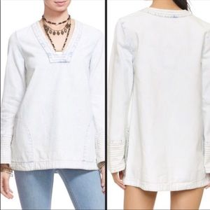 FREE PEOPLE / Dreaming of Denim Pullover